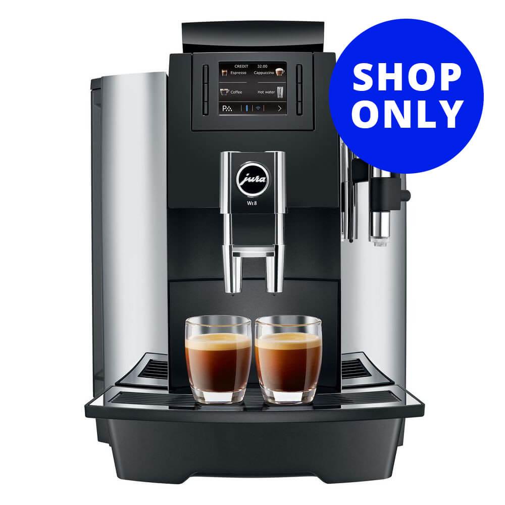 Coffee maker water hookup