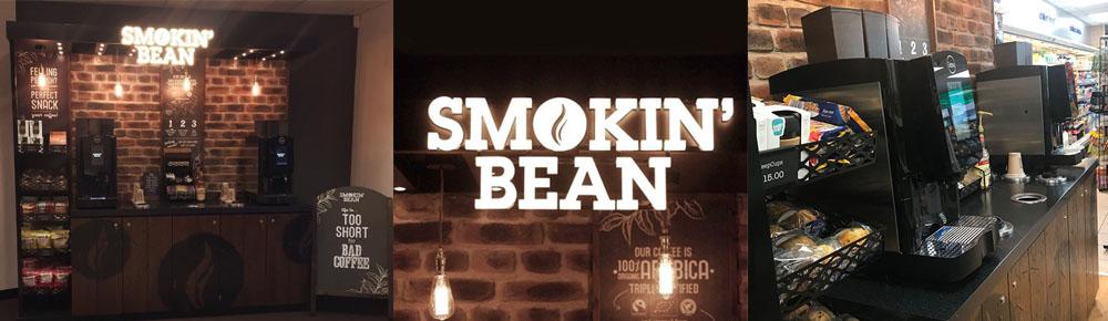 Smokin' Bean installation