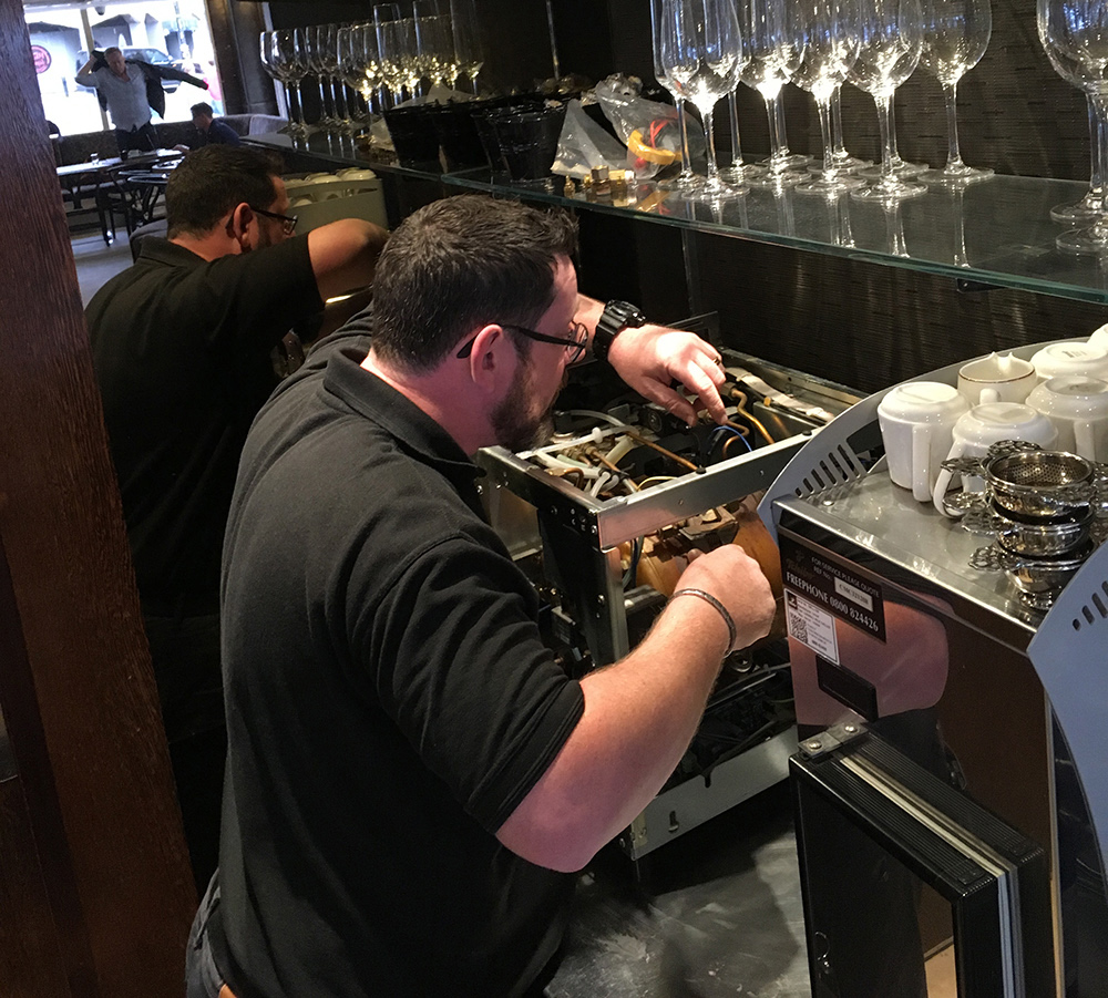 Coffee Machine Engineer Service