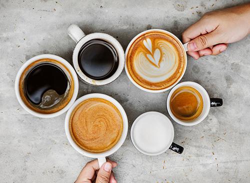 espresso cappuccino latte coffee