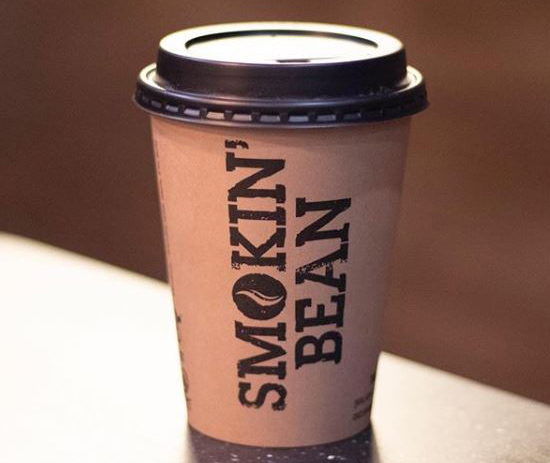 Smokin Bean take away cup