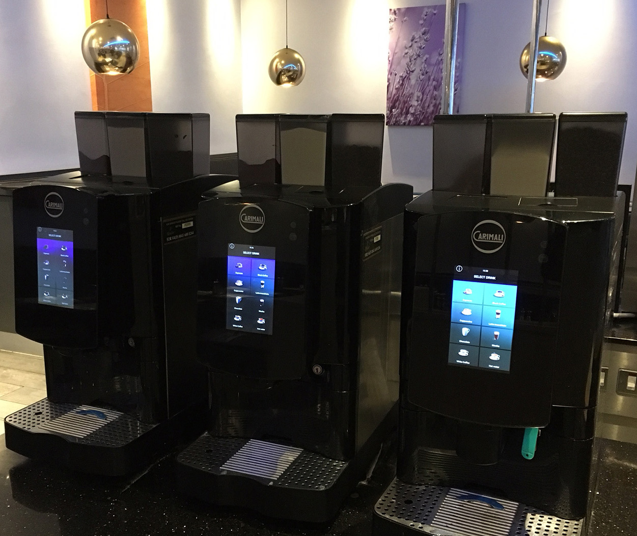 bean to cup machines