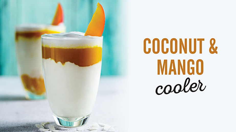 coconut and mango cooler