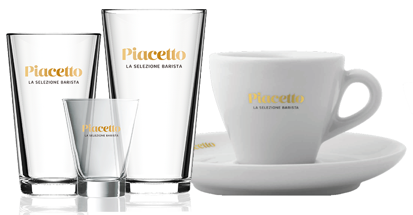 Piacetto crockery and glasses