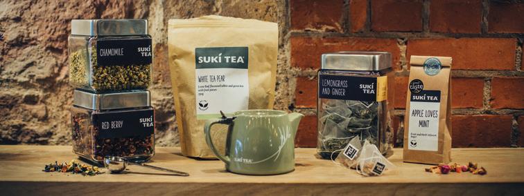 Suki tea range