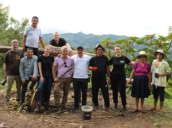 Origin visit Peru
